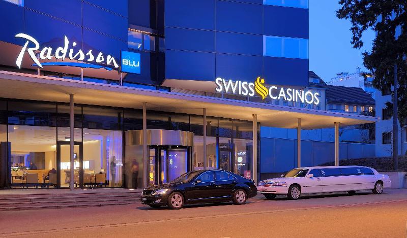 General view Radisson Blu Hotel, St Gallen