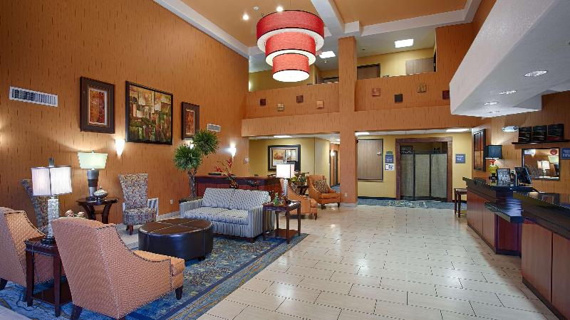 Lobby Best Western Plus Fresno Inn
