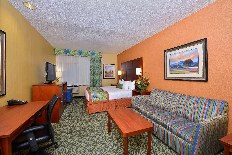 Room Best Western Plus Fresno Inn