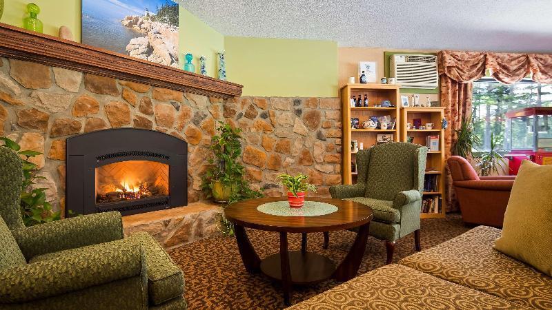Lobby Best Western Acadia Park Inn