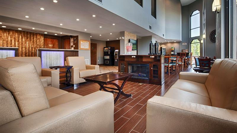 Lobby Best Western Statesville Inn