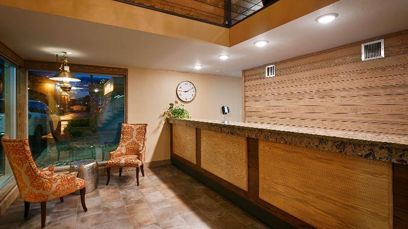 Lobby Best Western Plains Motel
