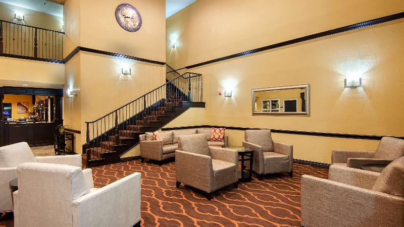 Lobby Best Western Plus Dfw Airport Suites