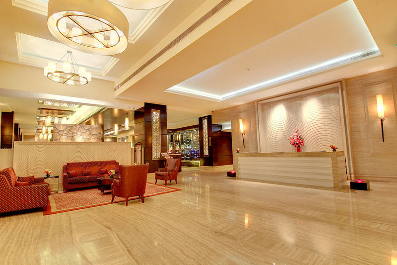 Lobby The Pllazio Hotel Gurgaon