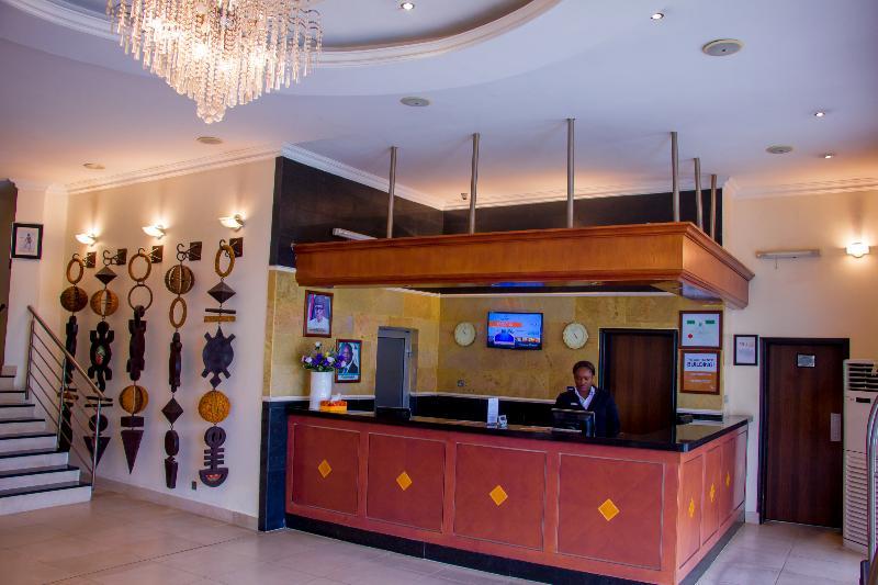 Lobby The Westwood Hotel Ikoyi