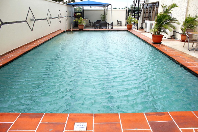 Pool The Westwood Hotel Ikoyi