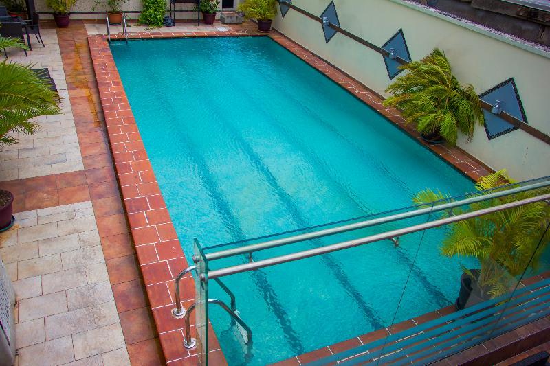 Pool The Westwood Hotel Ikoyi