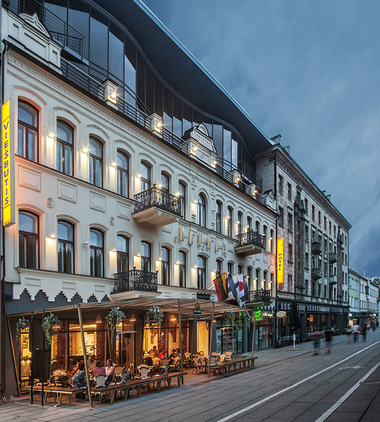 General view Kaunas Hotel
