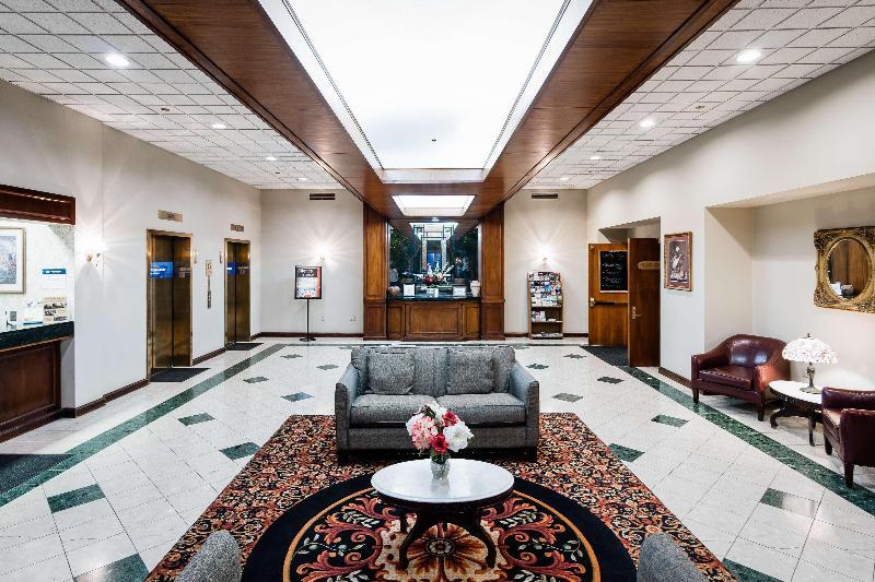 Lobby Best Western Grand Victorian Inn