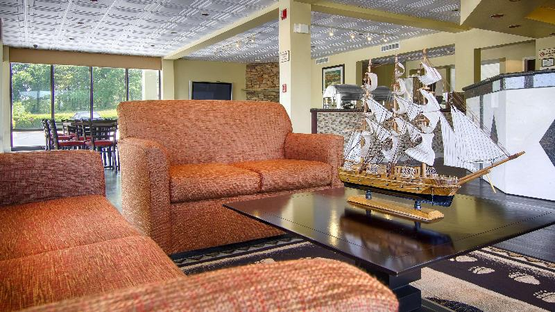 Lobby Best Western Cades Cove Inn