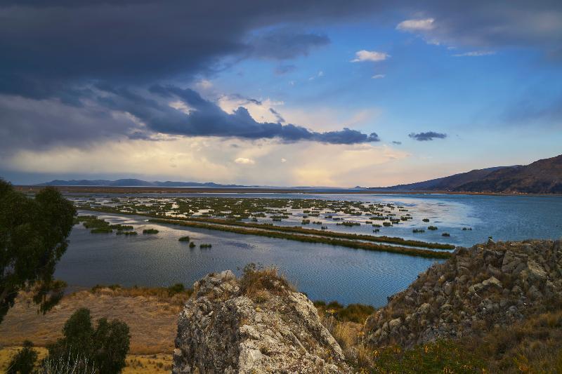 General view Libertador Lago Titicaca