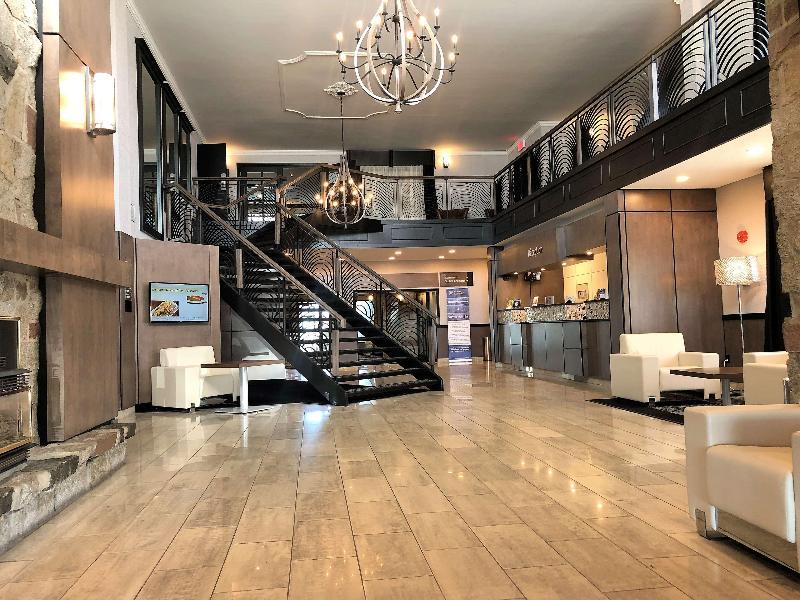 Lobby Best Western Hotel Universel Drummondville