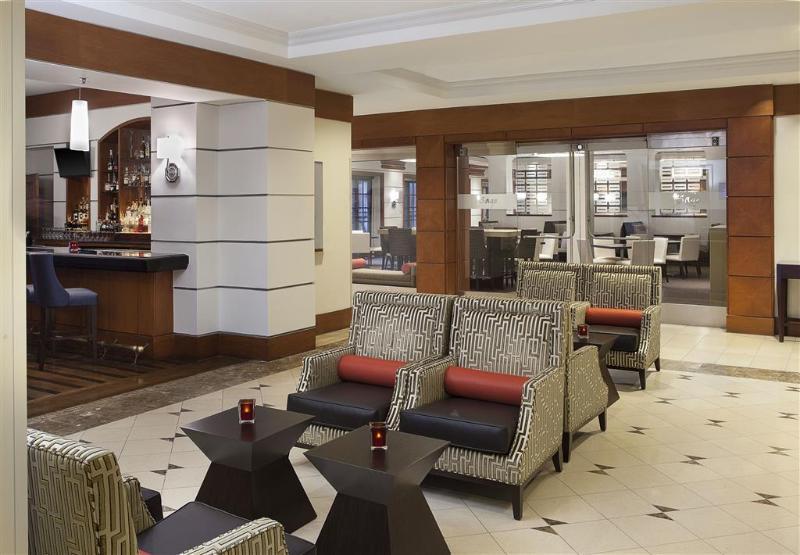 Lobby Sheraton Suites Houston Near The Galleria