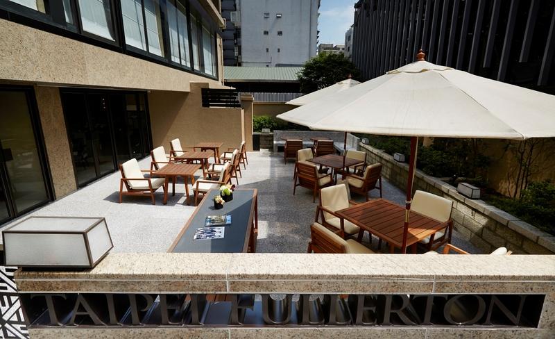 Terrace Taipei Fullerton Hotel - Maison North
