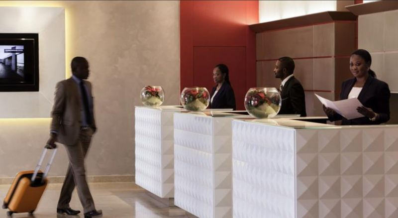 Lobby Pullman Grand Hotel Kinshasa