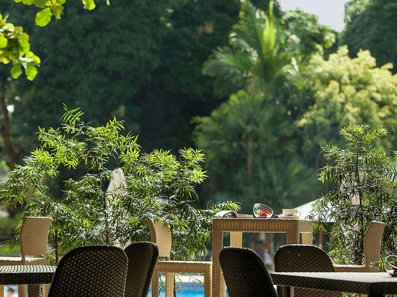 Terrace Pullman Grand Hotel Kinshasa