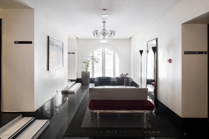 Lobby Demetra Art Hotel