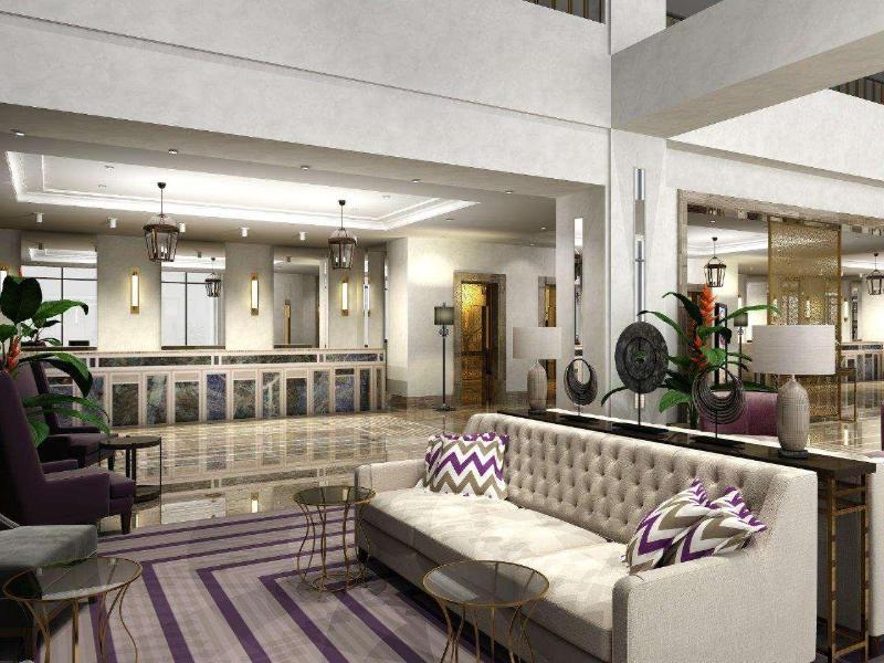Lobby Marti Istanbul Hotel