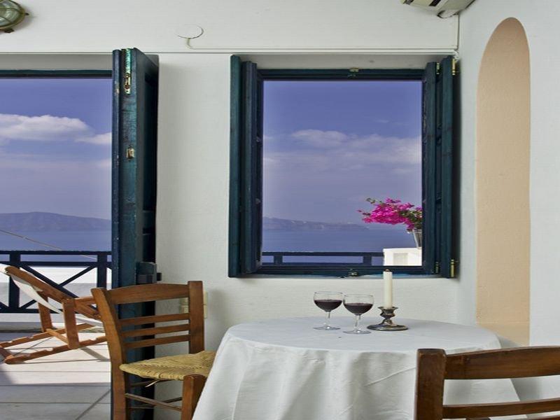Restaurant Santorini Reflexions Volcano