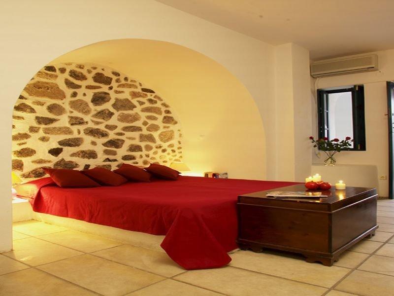 Room Santorini Reflexions Volcano