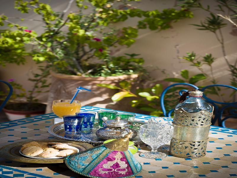 Terrace Riad Bleu Du Sud