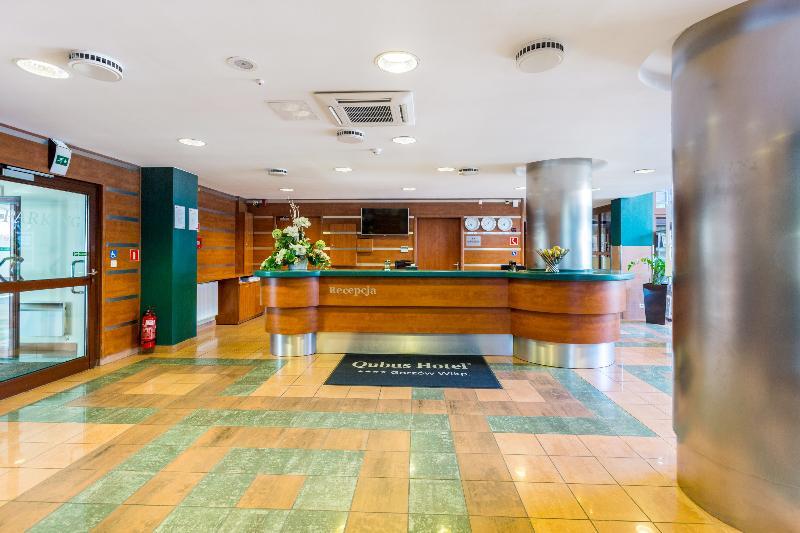 Lobby Qubus Hotel Gorzow Wielkopolski