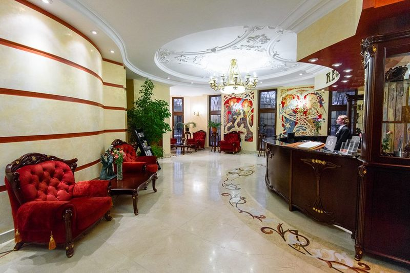 Lobby Staro Hotel