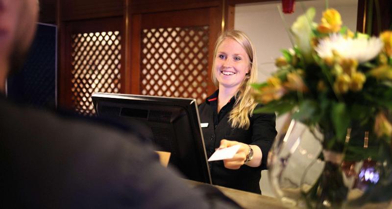 Lobby Best Western Gustaf Fröding Hotel & Konferens