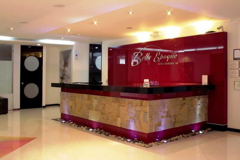 Lobby Ramada Bogota Belle Epoque