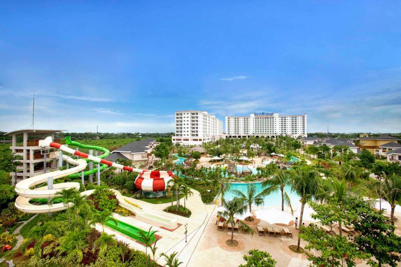 Map Location Of Jpark Island Resort