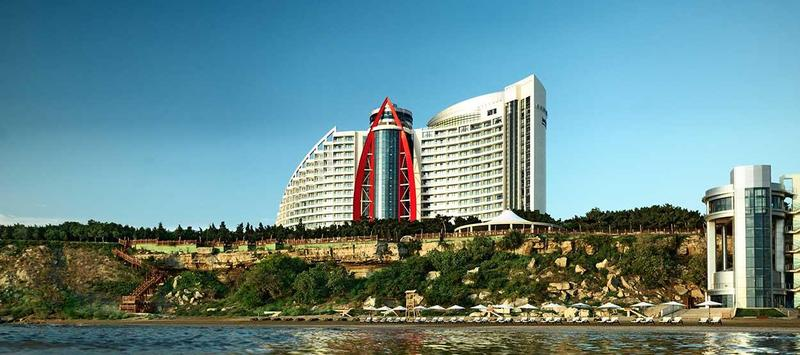General view Bilgah Beach Hotel