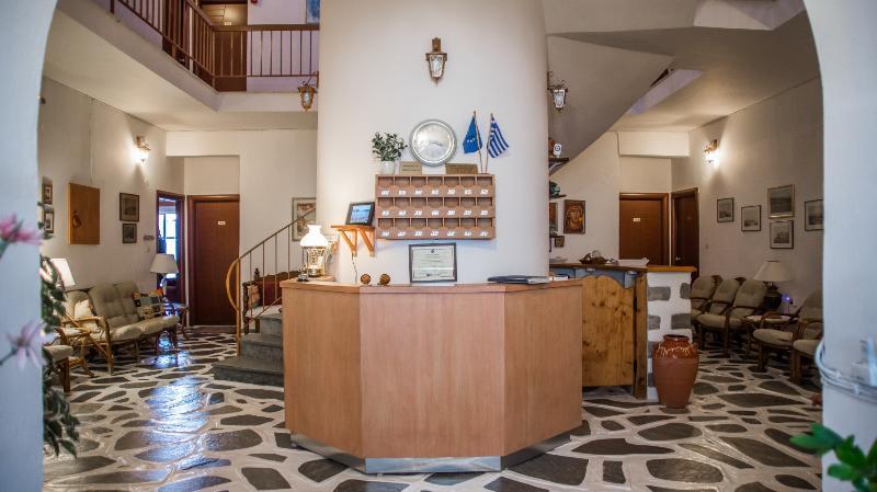 Lobby Grikos Hotel