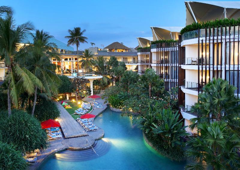 General view Le Meridien Bali Jimbaran