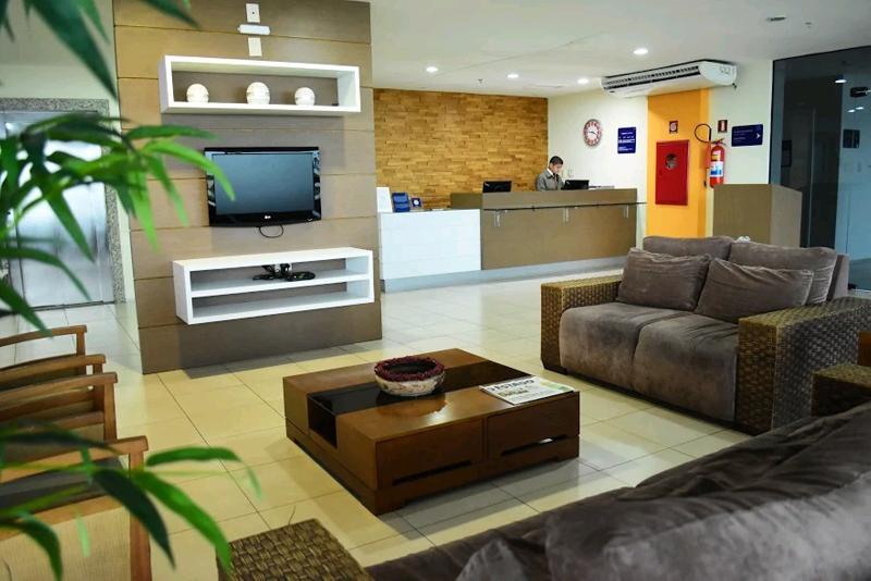 Lobby Hotel São Luís Praiabella