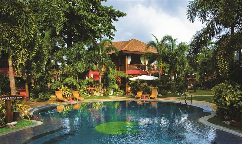 Pool Boracay Tropics Resorts Hotel