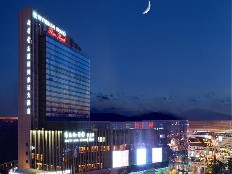 Wyndham Grand Plaza Royale Colorful Yunan Kunming - Hotel - 6