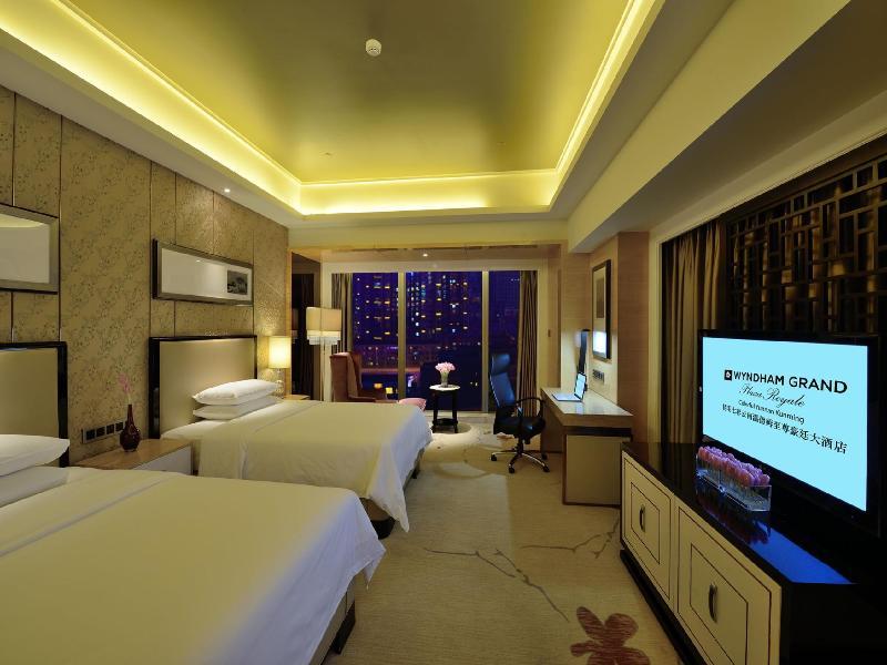 Wyndham Grand Plaza Royale Colorful Yunan Kunming - Hotel - 5