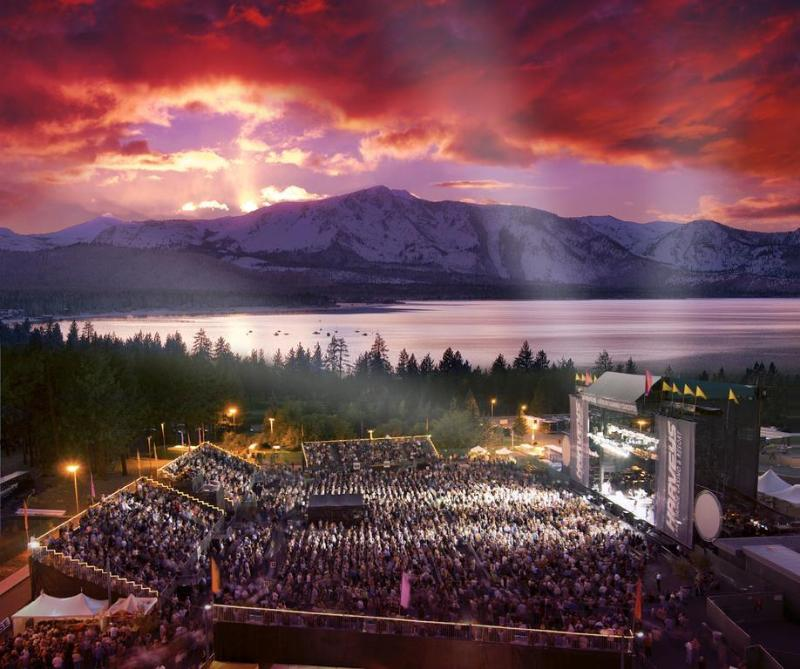 General view Harvey\'s Lake Tahoe