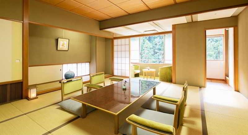 General view Sansuikan Kawayu Midoriya