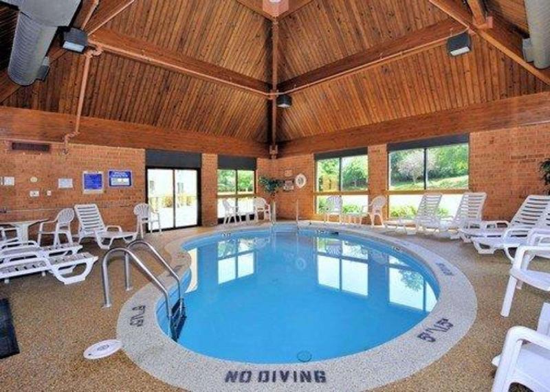 Pool Comfort Inn Virginia Horse Center
