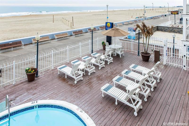 General view Comfort Inn Boardwalk