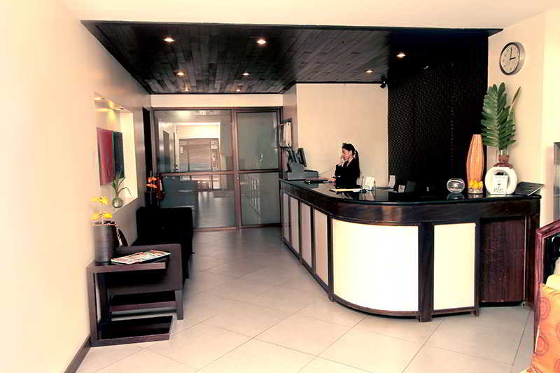 Lobby The Orange Place Hotel Quezon City