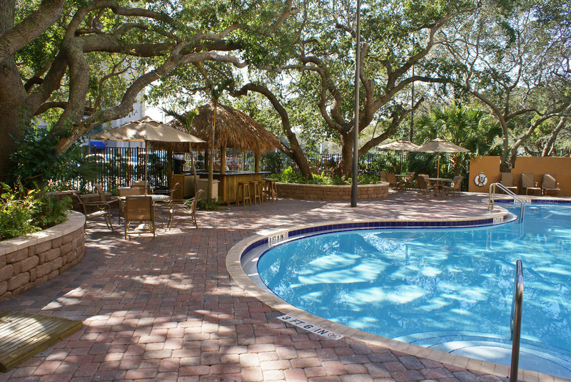 Pool Courtyard Cocoa Beach Cape Canaveral