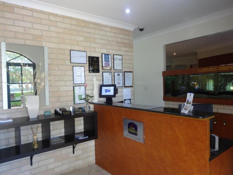 Lobby Best Western Tuscany On Tor Motor Inn
