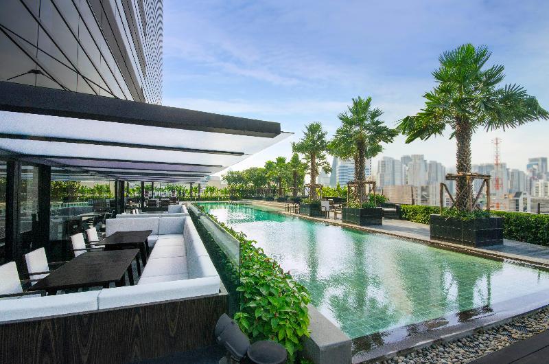 Pool Holiday Inn Bangkok Sukhumvit 22