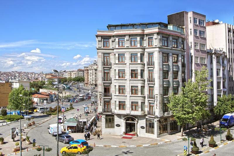 General view Daru Sultan Hotels Galata