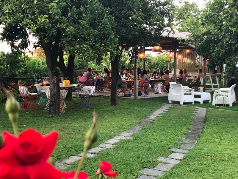 Terrace Relais Correale Rooms&garden