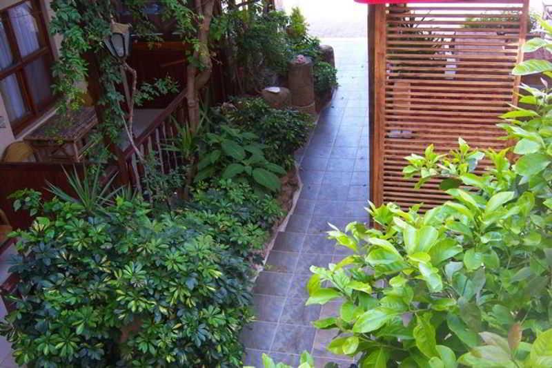 Terrace Sato Hotel Side