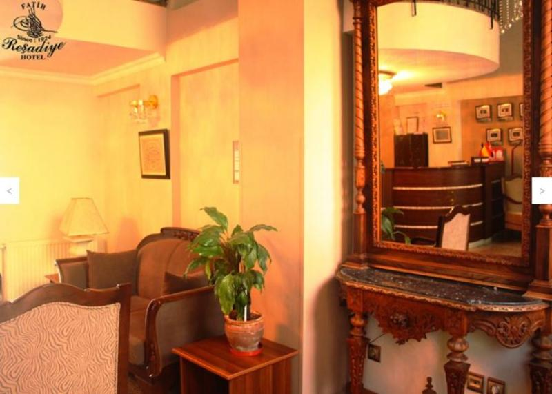 Lobby Fatih Resadiye Hotel