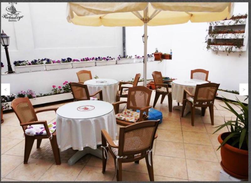 Terrace Fatih Resadiye Hotel